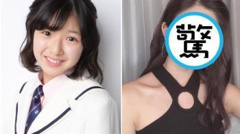 日本第2可愛國中生!2年臉蛋神進化變女神