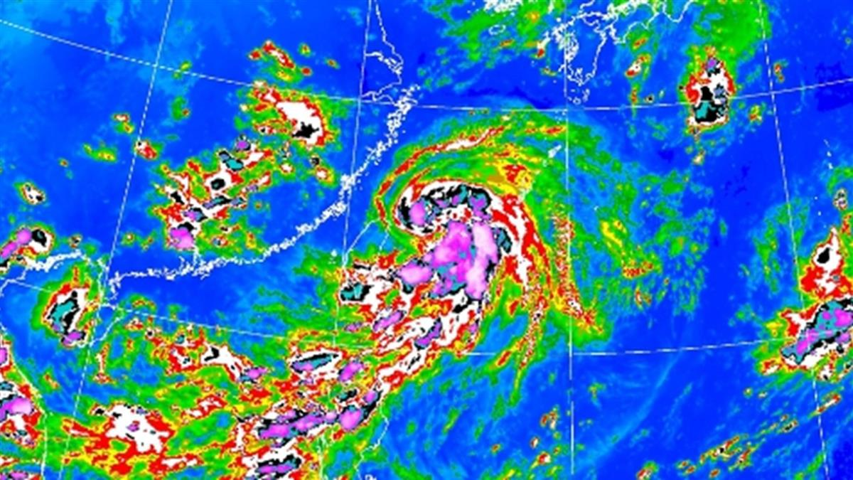 巴威颱風持續增強!外圍環流掃台 南部越晚雨越大