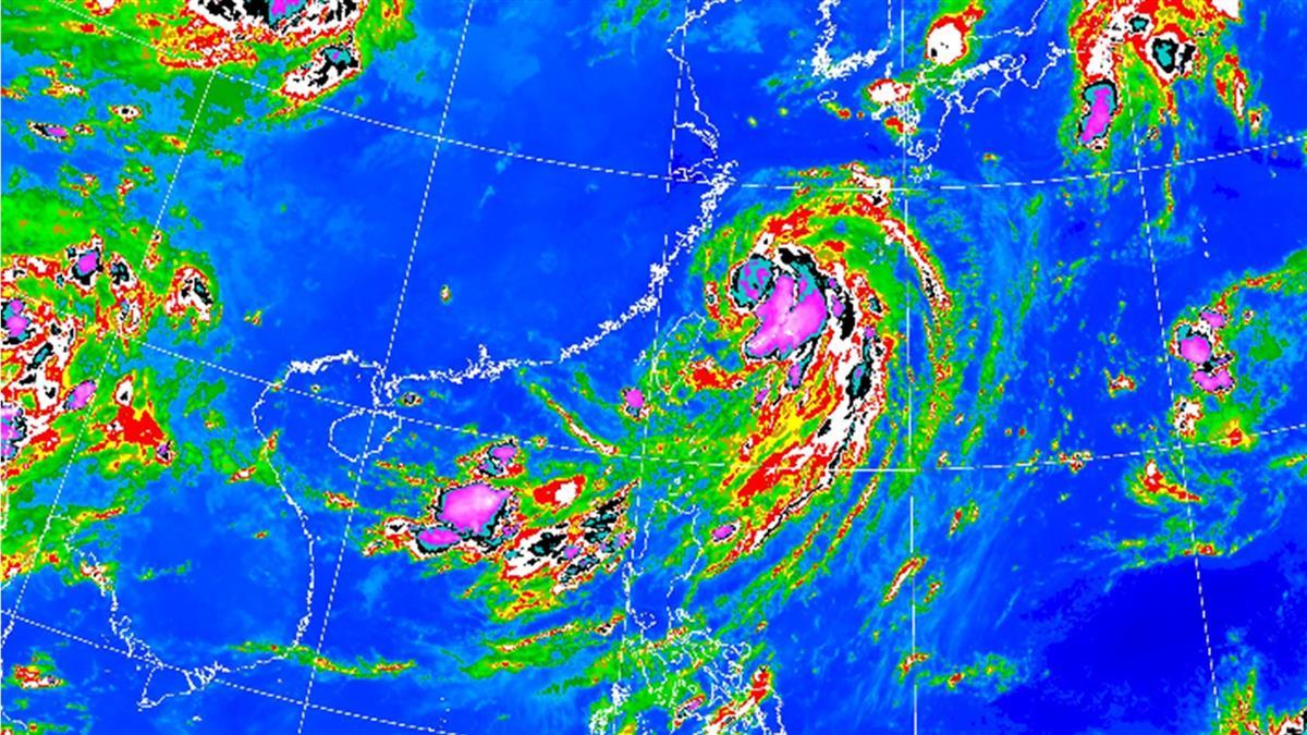 巴威颱風尾甩雨彈!明起連續下雨5天 降雨熱區曝