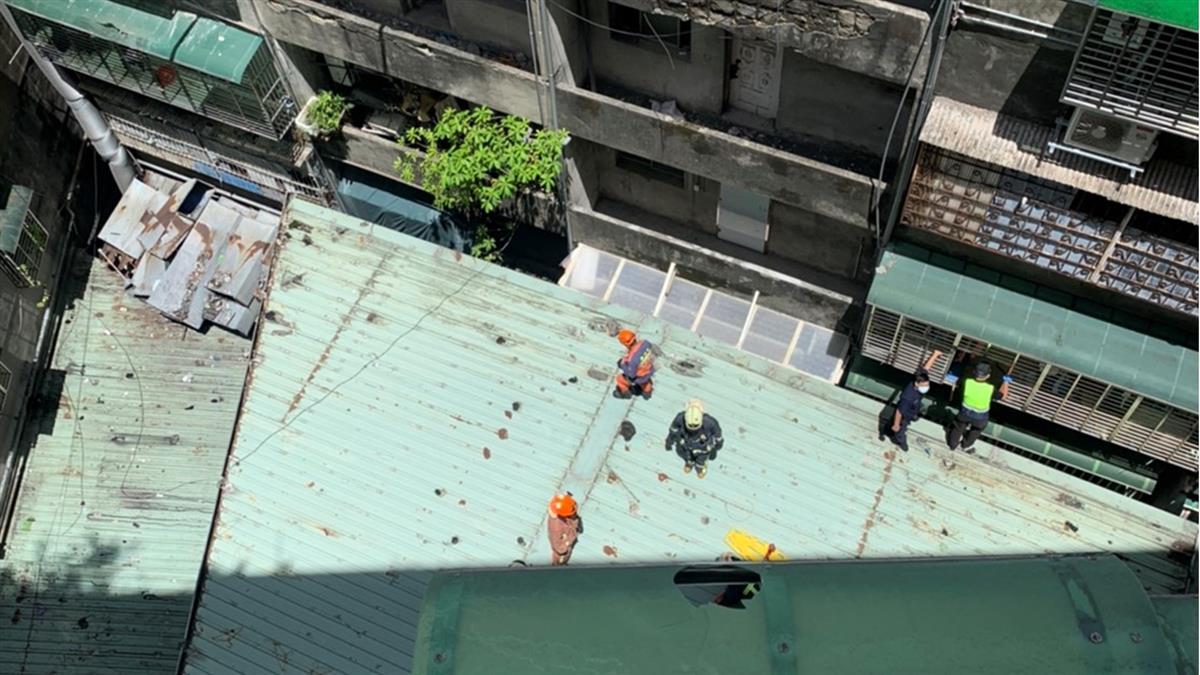 快訊/忘記帶鑰匙!三重7旬翁爬窗返家墜8樓慘死