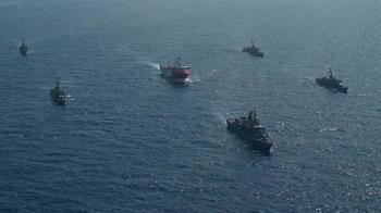 地中海風雲法派軍艦挺希臘 土耳其專家批火上澆油