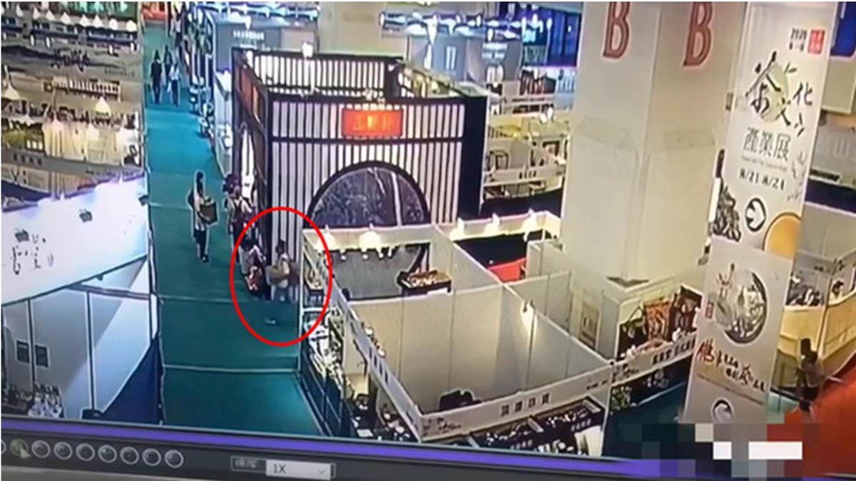 抓到了!世貿展覽141萬元沉香遭竊 識貨賊苗栗落網