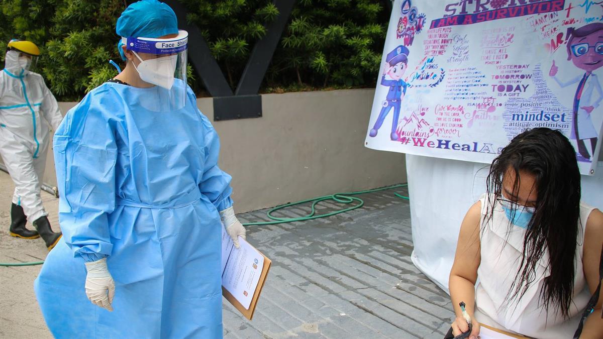 菲律賓新增確診近4週新低 俄國將大規模測試疫苗
