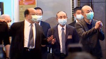 遭推擠重摔倒地 胡志強:要跟韓國瑜保持安全距離