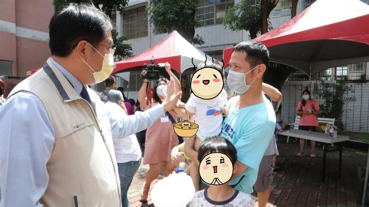 台南開出第一張未戴口罩罰單 對象竟是市長