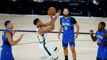 NBA季後賽 公鹿121-106力克魔術