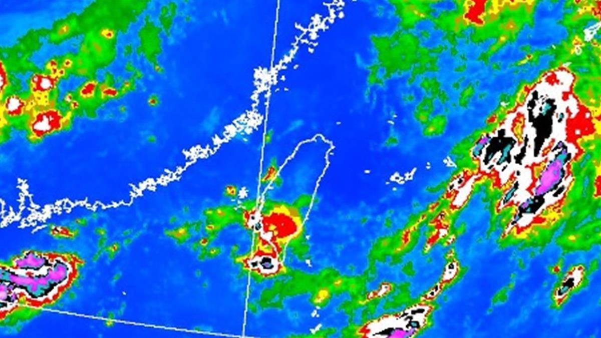 颱風尾狂掃!7縣市豪、大雨特報  2區一級淹水警戒