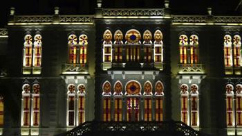 貝魯特爆炸:藝術家再次修復地標性彩色玻璃