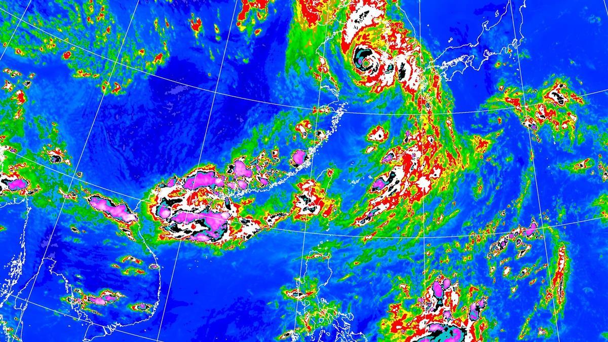 周末恐有颱風!連日豪大雨特報 1圖掌握全台降雨熱區