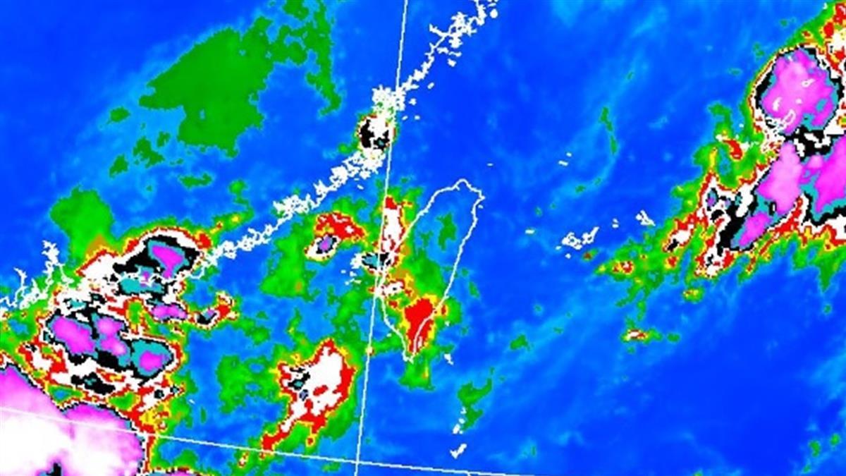 雨彈開炸南高屏!8縣市豪大雨特報氣象局曝未來降雨狀況