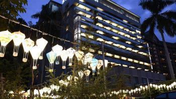 知本知名飯店深夜大火500人逃命 住客:沒聽見警報聲