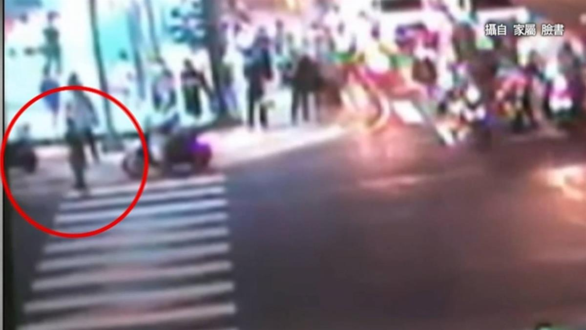 桃客運闖燈撞婦命危 台北7旬婦遭無照騎士撞飛亡