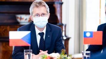 力挺捷克代表團訪台 歐美70議員連署譴責中國打壓