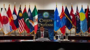 美防長嗆中國 在太平洋寸步不讓