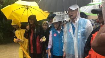 高雄暴雨釀水患 王淺秋:若韓國瑜沒清淤會更嚴重