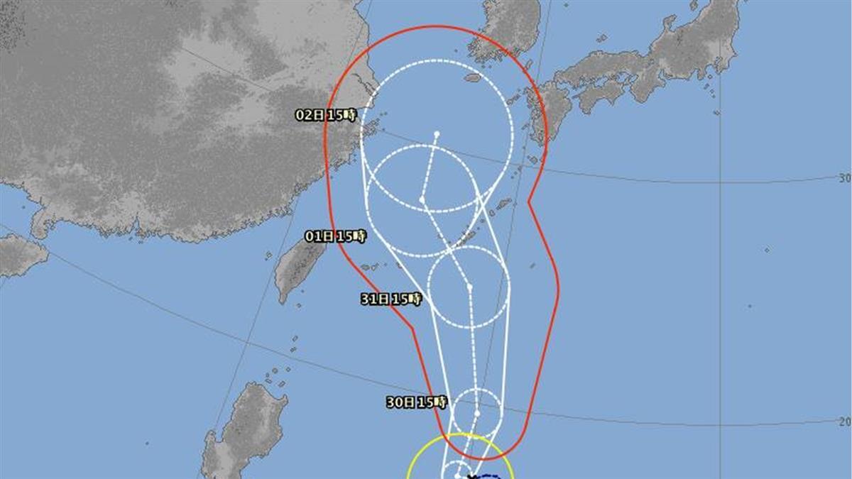 第9號颱風梅莎生成!外圍環流下週影響北台灣