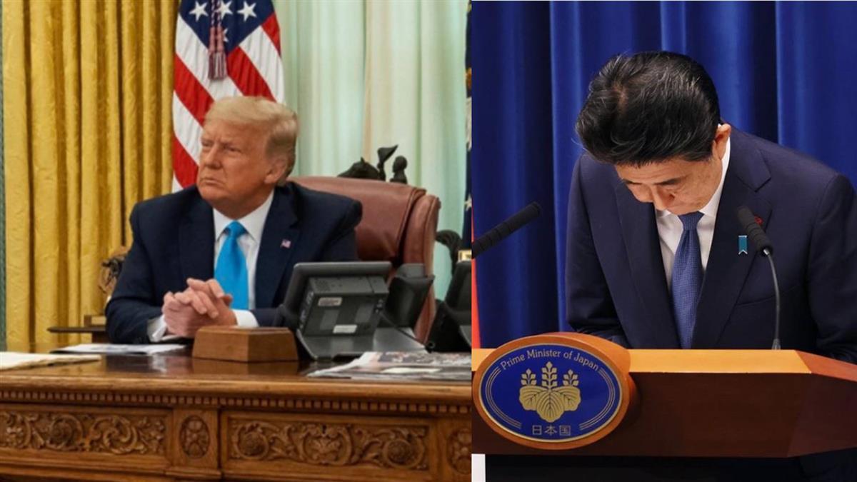 安倍離任首相前 將與川普等元首電話會談