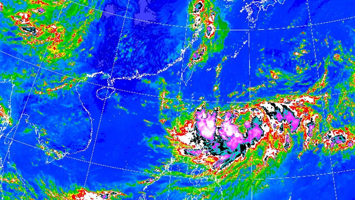快訊/對流雲系發展旺盛! 北北基14縣市大雨狂炸