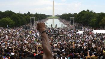 華盛頓大遊行再現 喬治·佛洛伊德難屬呼籲「繼承遺志」反抗種族歧視