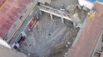 壽宴中飯店突坍塌 29人遭活埋慘死!陸8旬翁哭喊:老伴滿臉血