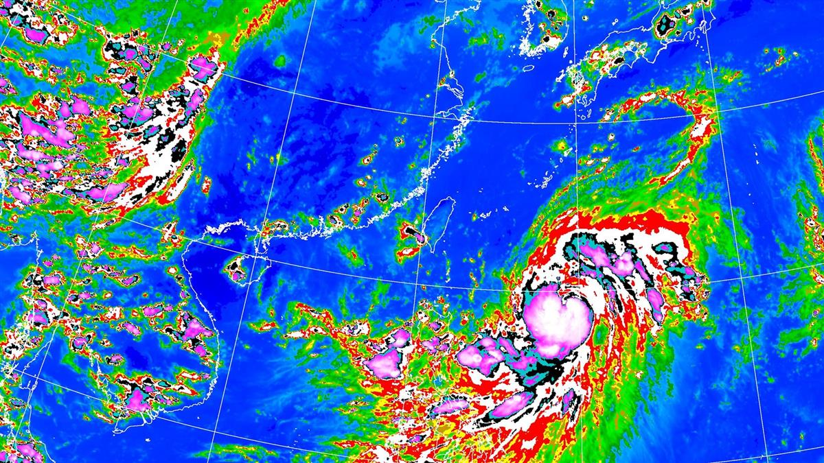 好天氣毀了!梅莎恐成今年最強颱風 這天起雨彈連炸7天