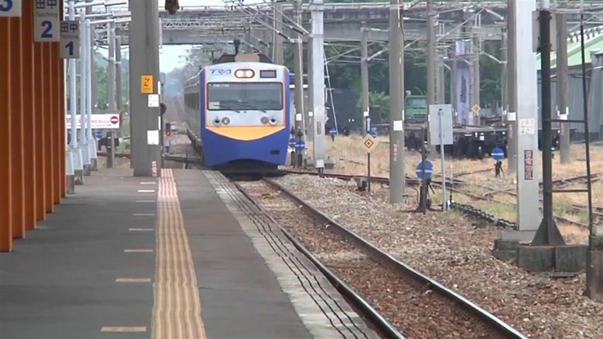 台鐵電車線遭壓斷 台南保安間雙向不通