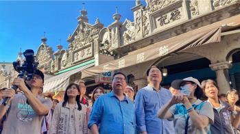 被問2022年規劃  鄭文燦林右昌表示先專心市政