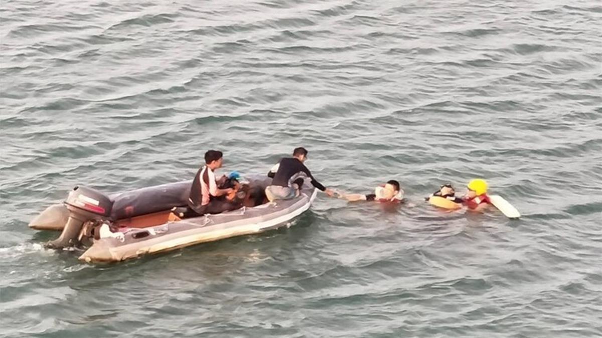 澎湖施放花火觀音亭海域 民眾溺水無生命跡象