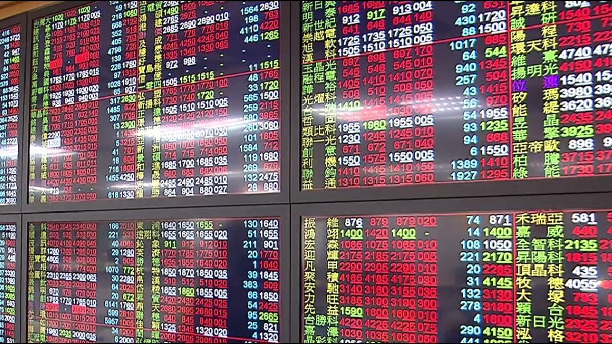 權值股攻而未果 台股漲近百點後 收斂回測平盤