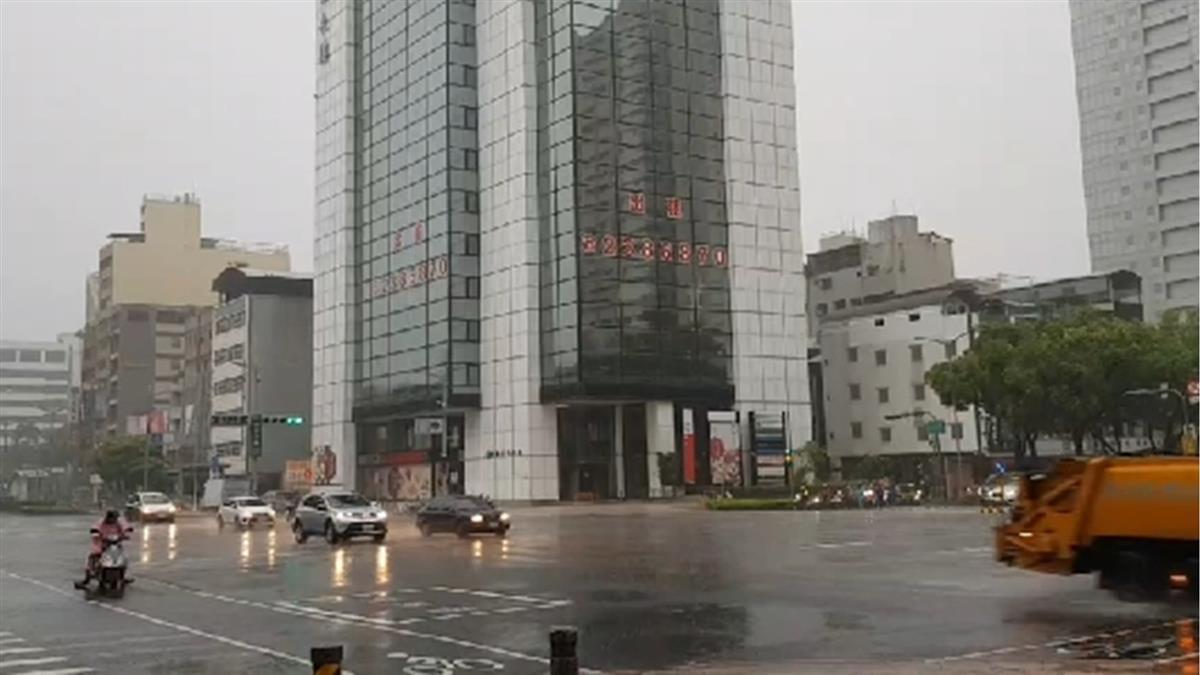 雷雨彈開炸!北北基4縣市大雨特報 慎防雷擊強陣風
