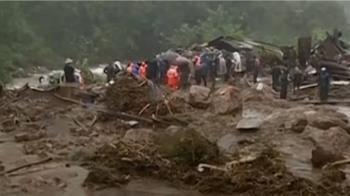 豪雨引發土石流洪災 印度尼泊爾過去1週至少41死