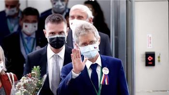 蔡總統歡迎來訪  維特齊祝生日快樂期待相見