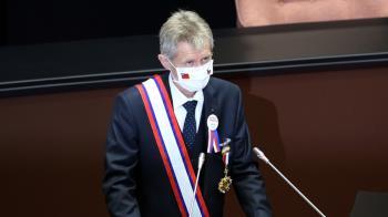 捷克議長維特齊立院演講 用中文大喊:我是台灣人!