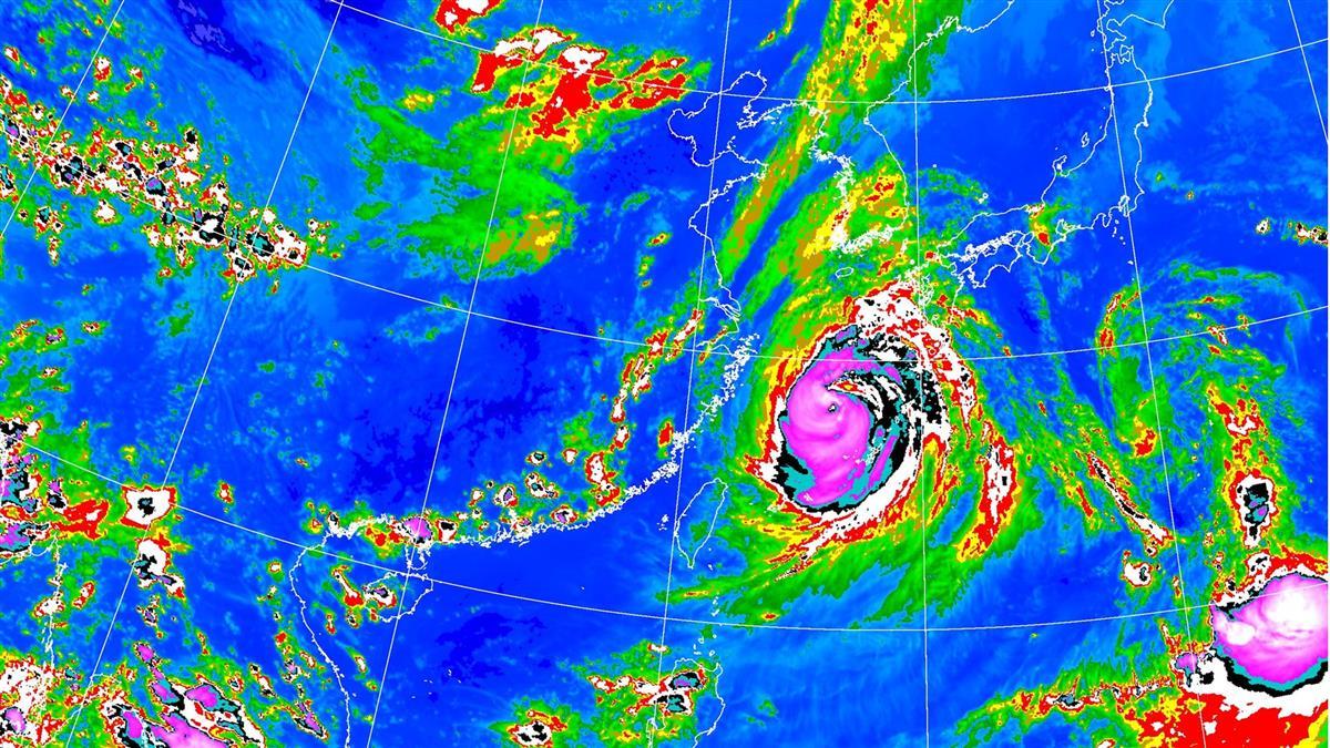 海神颱風生成!這天起雨彈又狂炸 全台降雨熱區出爐