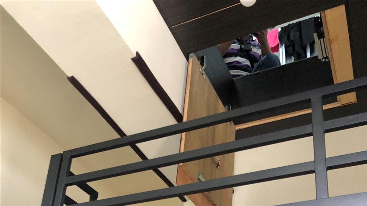 高雄少女遭關夾層!2坪密室內部曝 僅有鯊魚娃娃陪伴