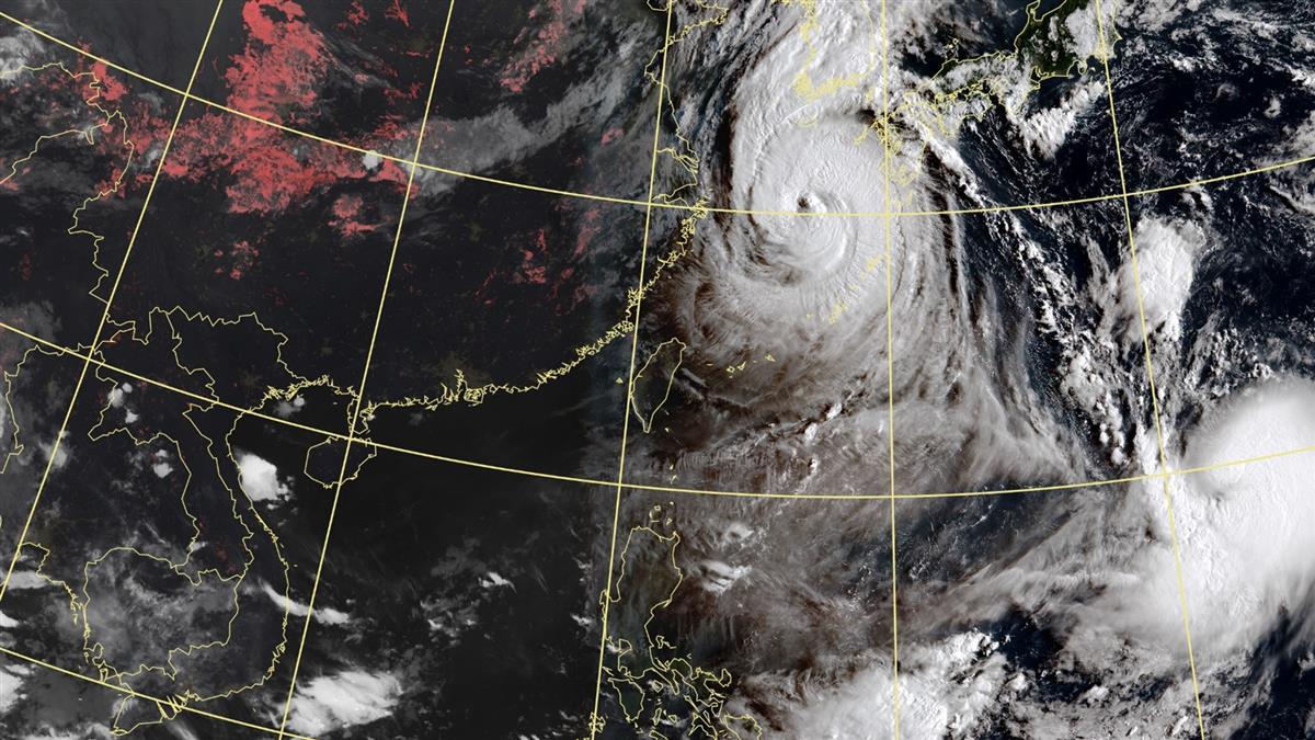 雙颱共舞!海神周末最近台恐變中颱 這天起連下雨2天