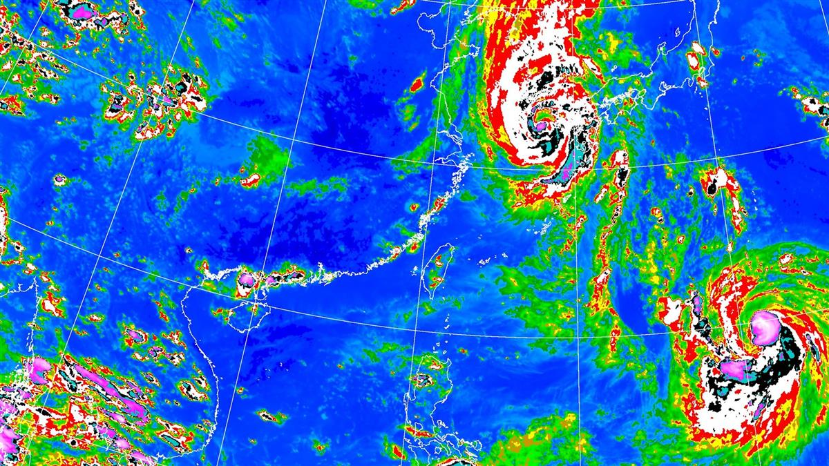 雨彈又開炸!氣象局發5縣市大雨特報 這地方升級豪雨警示