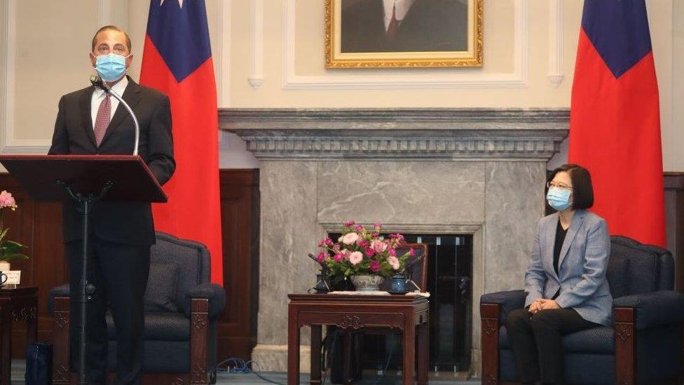 美國解密對台灣「六項保證」 中國擔憂「提升美台實質關係」