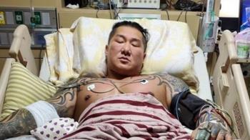 快訊/館長遭轟3槍出院了!警方加強戒護