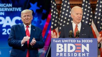 美國總統大選民調拜登領先 賭盤看好川普能連任