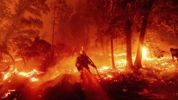 美加州野火上千人受困 當局緊急空運疏散