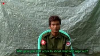緬甸2叛逃軍人認了!指揮官下令屠殺洛興雅人