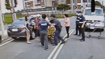 老婦車禍送醫又被撞!家屬氣炸要打警察 車主竟是她親戚