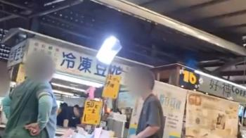 獨/菜市場攤位賣口罩誆日製 攤商口沫橫飛宣傳
