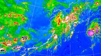 鋒面接力報到!這天起連4日水氣增 午後雨勢最大