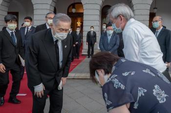 日前首相森喜朗19日率團來台 出席李登輝告別式