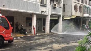 快訊/包商施工誤挖管線!台南市府東路天然氣洩漏