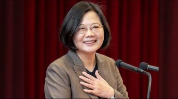 獲選美雜誌風雲人物 總統:台灣人團結一心成果