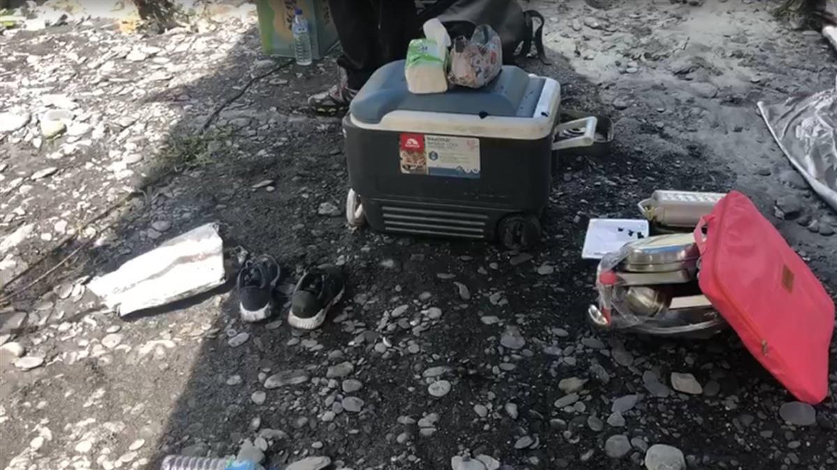 南投露營客遭沖走 政院:全力救援盡快調查