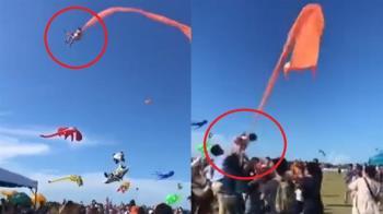 重大意外!女童遭風箏捲上7樓高空 新竹3官員下場慘了